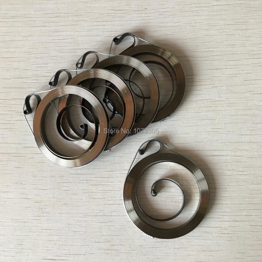 5 unids/lote arranque de retroceso rebobinar primavera conjunto para 017 018 021 023 025 MS170 MS180 MS210 MS230 MS250 motosierra partes