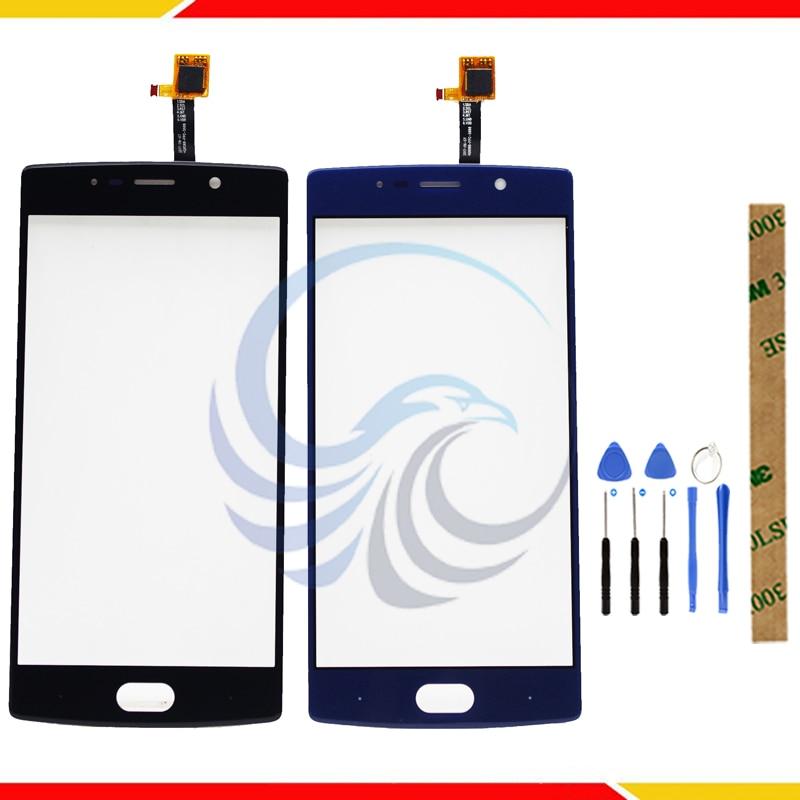 Tela de toque para doogee bl7000 substituição de vidro digitador da tela de toque