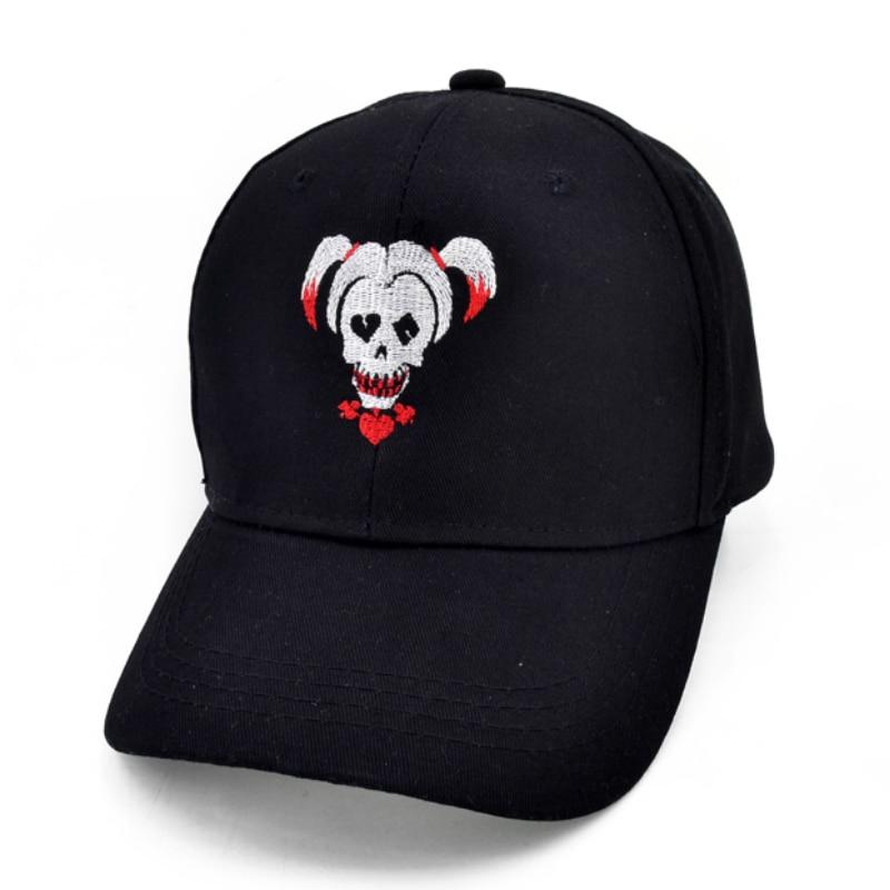 Бейсболка для мужчин и женщин, бейсболка с вышивкой «Джокер», «Отряд Самоубийц», в стиле хип-хоп