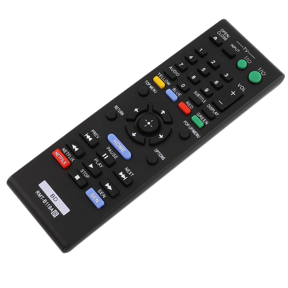Universal azul-ray dvd player substituição controle remoto para sony BDP-BX110/BDP-BX310/BDP-BX510/BDP-BX59 preto