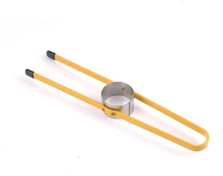 1 pieza de acero inoxidable de PVC máquina de pelado de maíz, utensilios de cocina LB 07