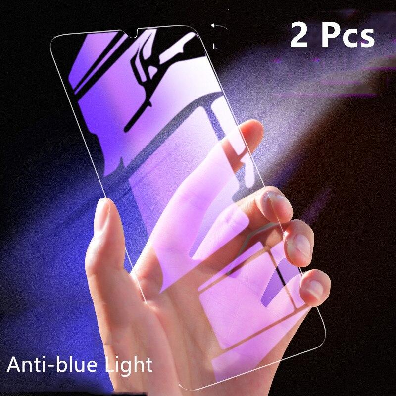 2Pcs Full Tempered Glass For Xiaomi Mi 9 SE Mi 8 Mi8 Lite Anti-Blue-ray 9H Screen Protector Film On