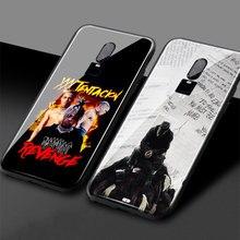 XXXTentacion new design fashion RIP rapper Tempered Glass Soft Silicone mobile Phone Case Cover Coque for OnePlus 6 6T 7 7T Pro