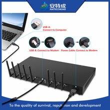 3G modem pool 1U 8 ports gsm modem sim5320 prise en charge en vrac sms/IMEI changement