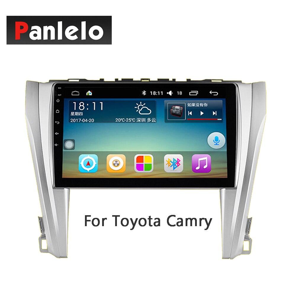 Panlelo Android 7,1 estéreo de coche 2 Din 10,2 pulgadas para Toyota Corolla VIOS YARiS L Land Cruiser RAV4 Levin Camry Prado Highlander