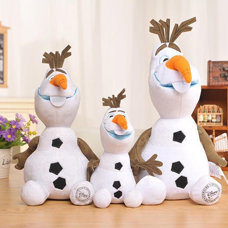 30/50 CM Disney Frozen princesa Olaf peluche Kawaii muñeco de nieve Juguetes de dibujos animados Juguetes de peluche para niños Juguetes de peluche