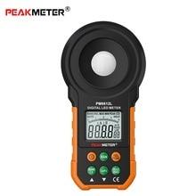 Numérique luxmètre Lux/FC mètre photographie luminomètre photomètre poche spectromètres Instruments optiques 200, 000Lux
