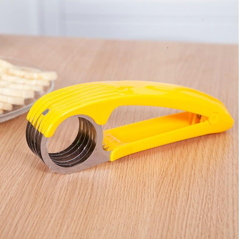 Банан огурец колбаса резак слайсер измельчитель многофункциональный для фруктов овощей салат чайник Экспресс Дом Кухня ручные инструменты