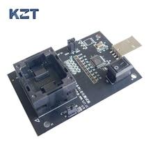 EMMC100 socket adapter smart digital device GPS device flash memory chips data recovery burn-in test hardware repair programming