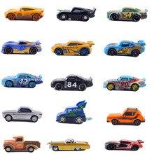 39 coches de estilo Disney Pixar Cars 3 Cars2 Mater Huston Jackson Storm Ramirez 1:55 Aleación de Metal fundido niños juguetes para niños regalo de cumpleaños