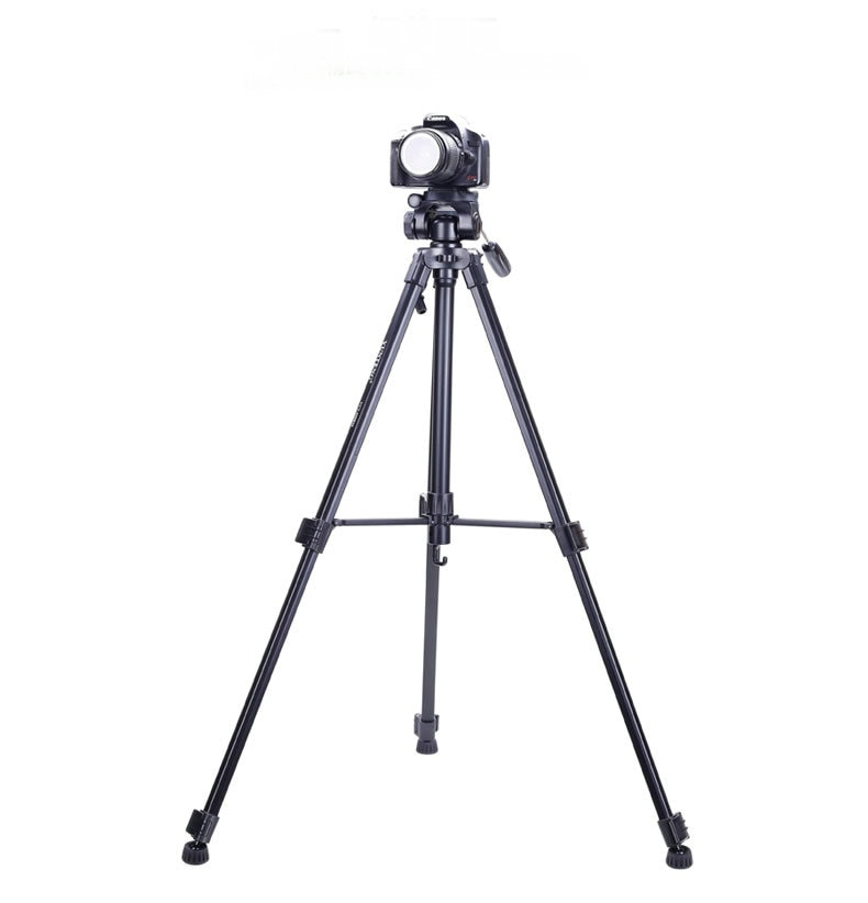 New professional fotografia yunteng 590 tripé de câmera portátil tripé para câmera nikon sony canon samsung rússia brasil frete grátis