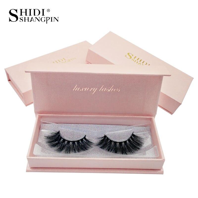 Pestañas SHIDISHANGPIN Mink 3D, pestañas postizas naturales, extensión de maquillaje, pestañas postizas, pestañas de imitación, maquillaje de pestañas