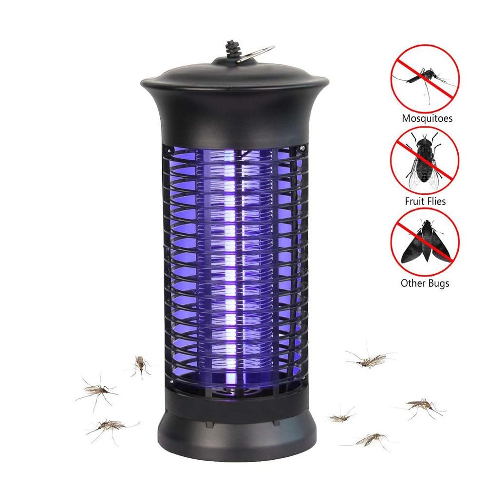 4W 6W lámpara led para matar mosquitos de la UE o nos AC100-240V noche luz UV púrpura insectos plagas insecto asesino trampa jardín Patio viajar