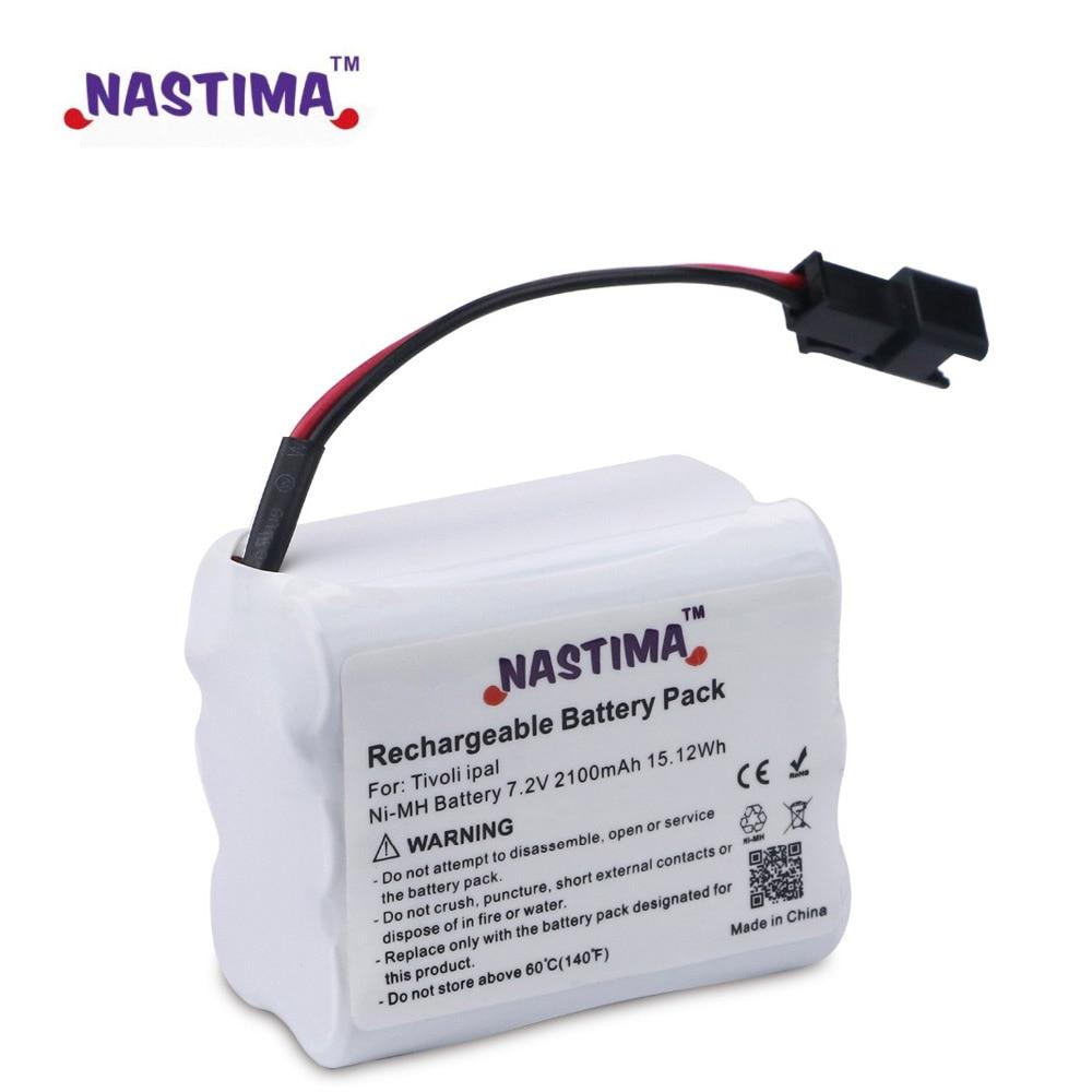 Аккумуляторная батарея NASTIMA 7,2 V 2100mAh Ni-MH для Tivoli PAL/iPAL Radio (подходит для MA-1, MA-2, MA- 3)