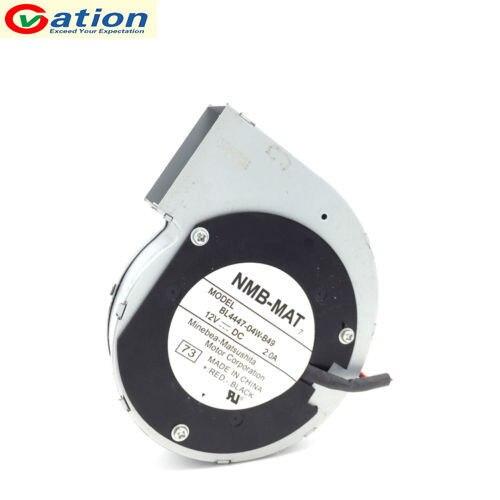 Ventilador de refrigeración para ventilador de turbina centrífuga, BL4447-04W-B49 de 11028, 12V, 2A, 2 cables de 110x110x28mm, para ordenador, PC, CPU