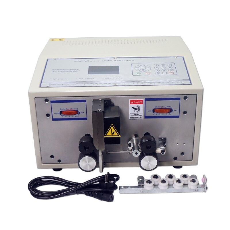Máquina de pelado de cables automática SWT508C de gran oferta, máquina de pelar cables de corte, ordenador 2.5mm2