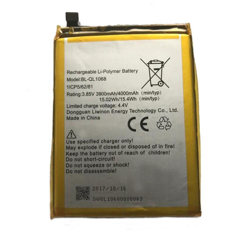 GeLar 3.85V 3900mAh Original Replacement battery For Mobile Phone BL-QL1068 Battery