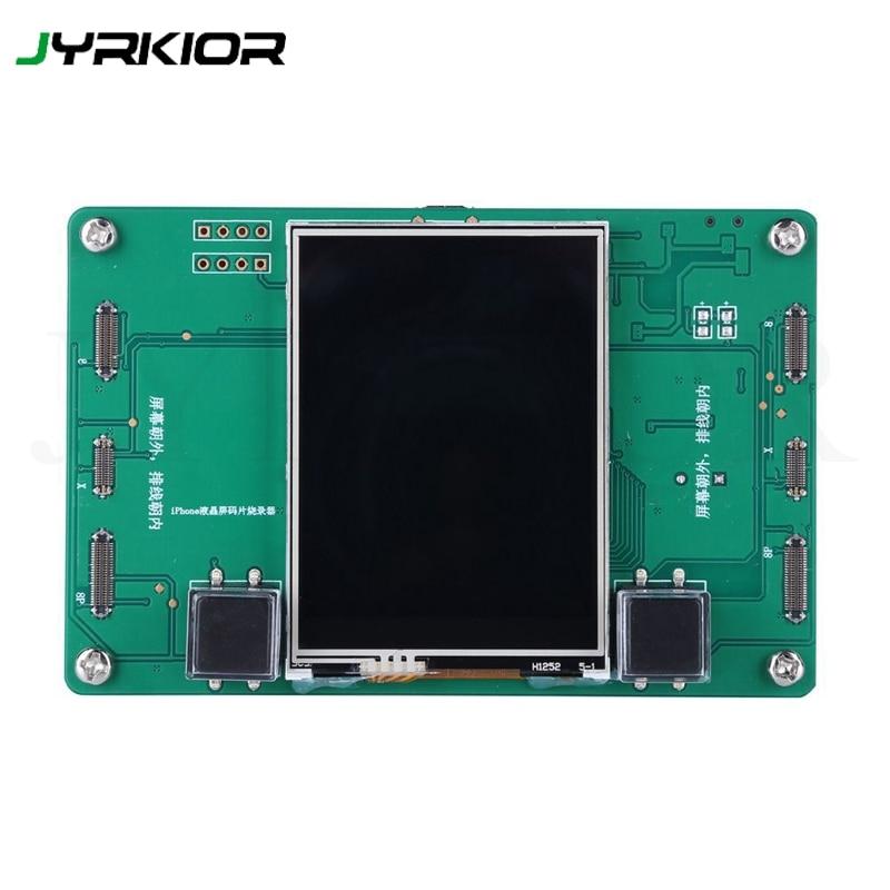 Jyrkior para iPhone 8/8 Plus/x Módulo de programador de copia de seguridad de lectura de datos fotosensibles de la pantalla LCD