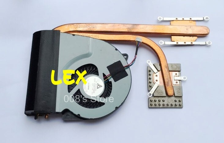 Marca nuevo portátil CPU ventilador de disipador de calor para ASUS N46 N46VB N46VJ N46VM N46VZ N46E N46J N46JV N46V KSB0705HB -BM1R
