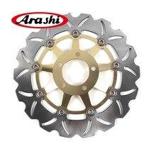 Arashi-frein à disque pour SUZUKI   Pièces pour SUZUKI GS400 GS 400 1989 250 400, frein frontal flottant, freins à disque, Rotors GSF BANDIT 500 GS F GS500F