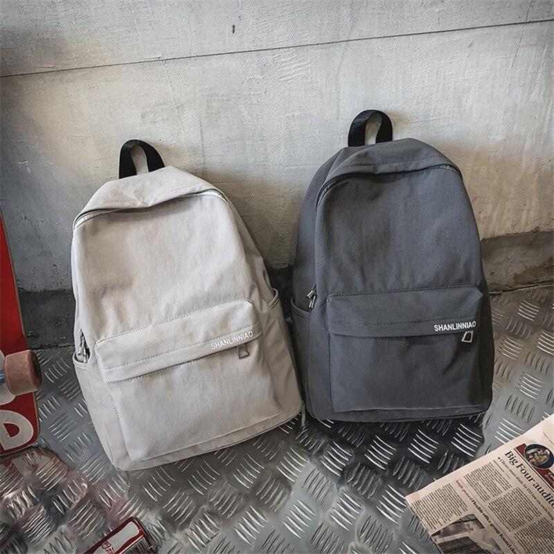 Unisex Package simple design oxford Korea style women backpack fashionable girls leisure bag school student book bag teenager