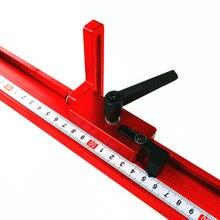 Modèle 45 goulotte en alliage daluminium Standard t-pistes T fente avec outil de travail du bois darrêt de voie donglet pour établi à bois