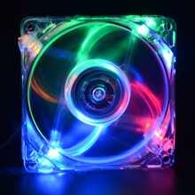 8025 GDT Green LED PC Computer Case Brushless Cooling Fan 80mm 8080x25mm 8025S DC 12V 4Pin Cooler