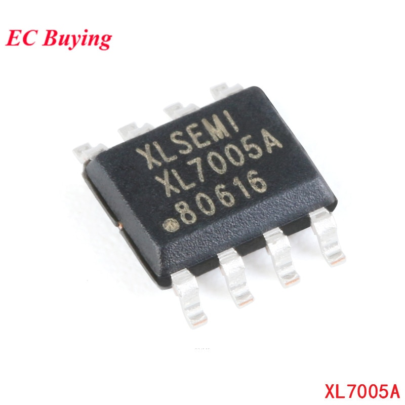 Chip convertidor de potencia de 10 Uds Original SMD XL7005A SOP-8 reductor DC Chip reductor 150khz circuito integrado