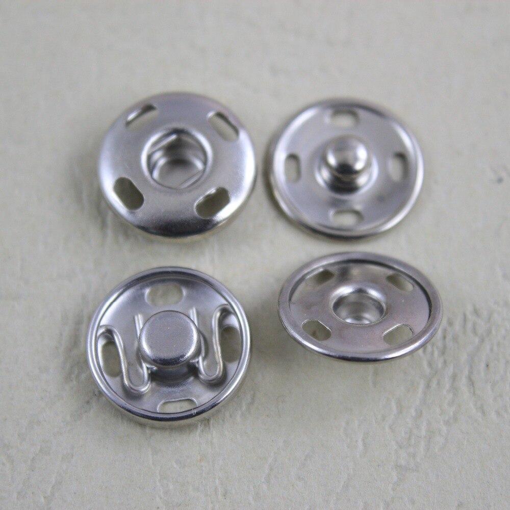 15mm 2 pares/lote botão combinado costura acessórios para vestuário
