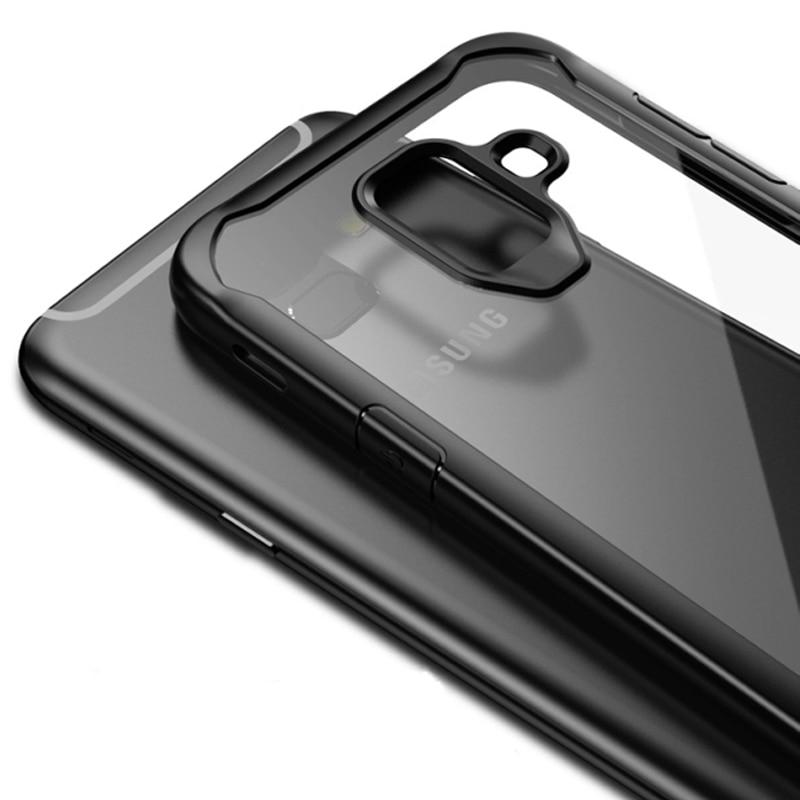 Crystal Etui for Coque Samsung A6Plus Case Galaxy A6 Plus 2018 Phone Case A750 Back Cover for Funda Samsung Galaxy A7 2018 Case