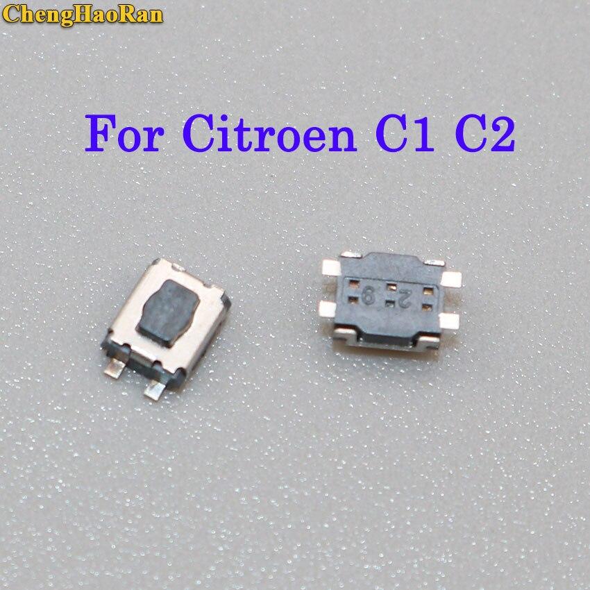 ChengHaoRan 10 stücke/20 stücke Micro Schalter 3x4 Für Citroen C1 C2 C3 C4 C5 C6 C8 REMOTE KEY FOB REPARATUR SCHALTER MICRO TASTE