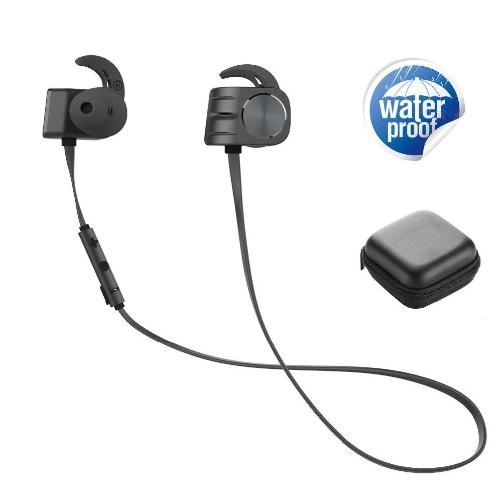 PLEXTONE Bilateral deportivo magnético Bluetooth 4,1 auriculares IPX5 impermeable Bluetooth auriculares 160mAh larga duración de la batería