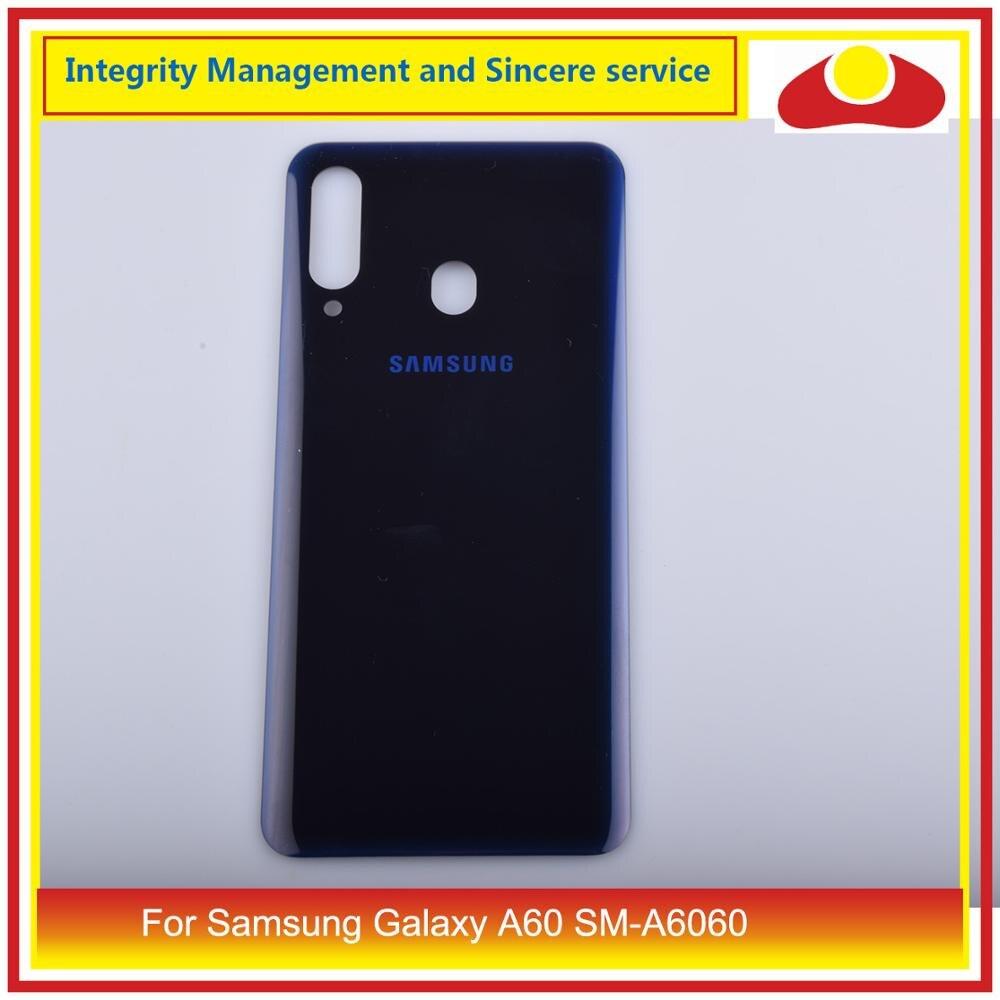 Para Samsung Galaxy A60 SM-A6060 carcasa batería puerta para parabrisas trasero carcasa chasis carcasa A60 2019 reemplazo