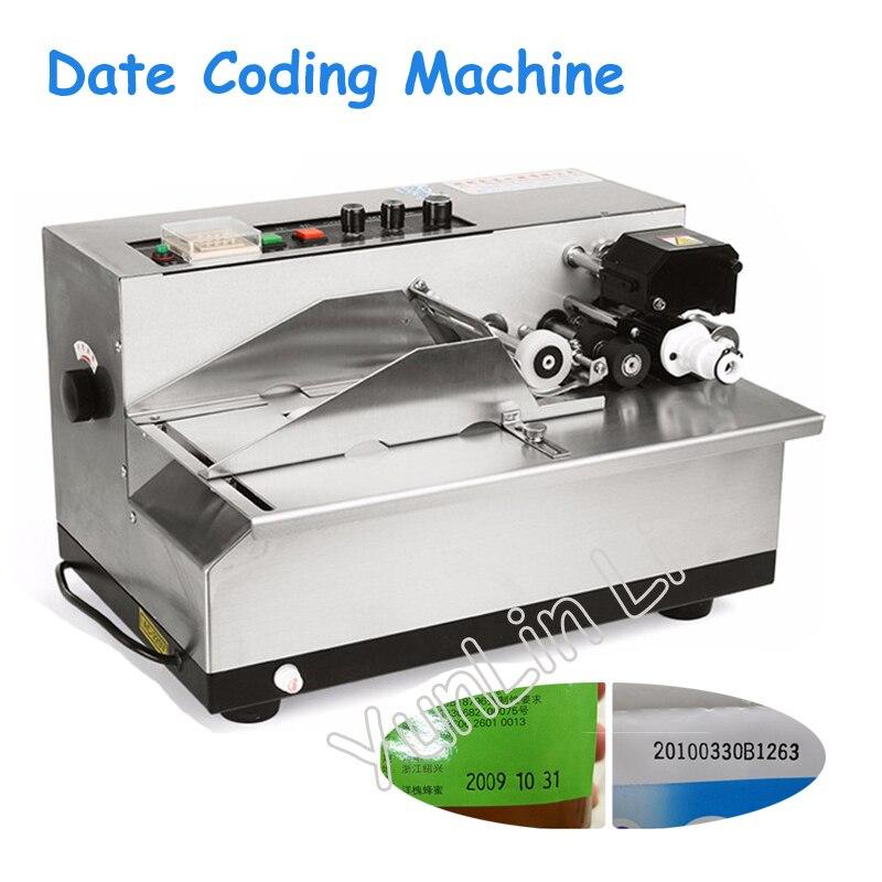 لفة الحبر الترميز آلة 220V بطاقة طابعة تنتج تاريخ آلة الطباعة الصلبة كود الحبر طابعة MY-380F