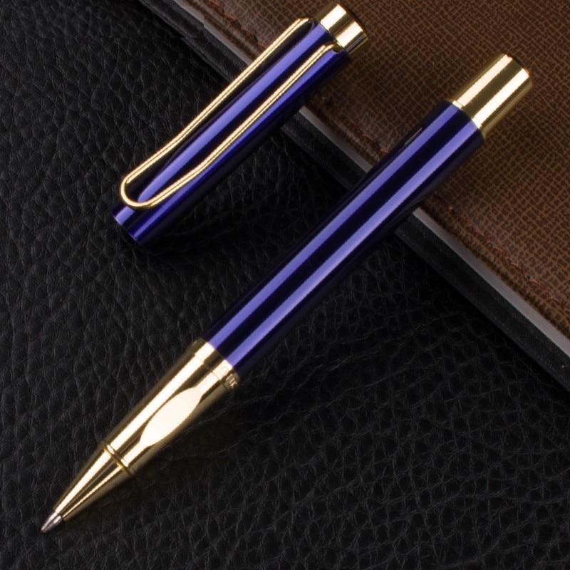 Bolígrafo De Metal de 0,5mm con diseño de Vector de negocios, material de papelería para estudiantes y oficinas