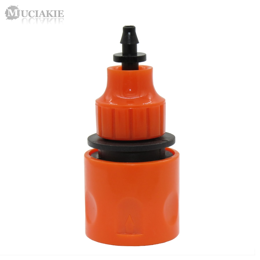 MUCIAKIE 2PCS 4/7mm 8/11mm Water Hose Quick Connector Adapter With 1/4
