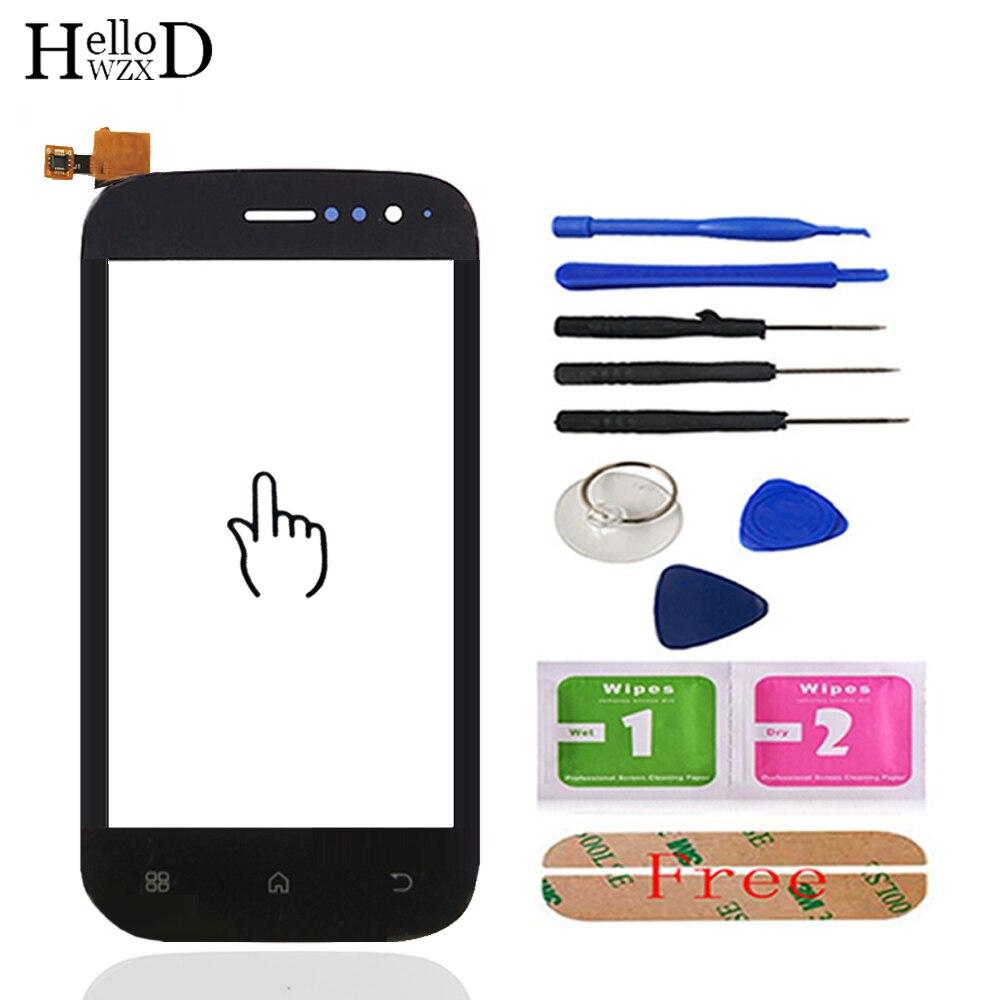 HelloWZXD 4.0 écran tactile Mobile verre tactile panneau numériseur avant verre pour Fly IQ442 IQ 442 capteur de lentille outils adhésif gratuit