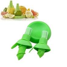 Lemon Citrus Sprayer Holder Plate Screw Lock and Pump Top 3 Piece Kitchen Cooking Tool 8CM/10.5CM