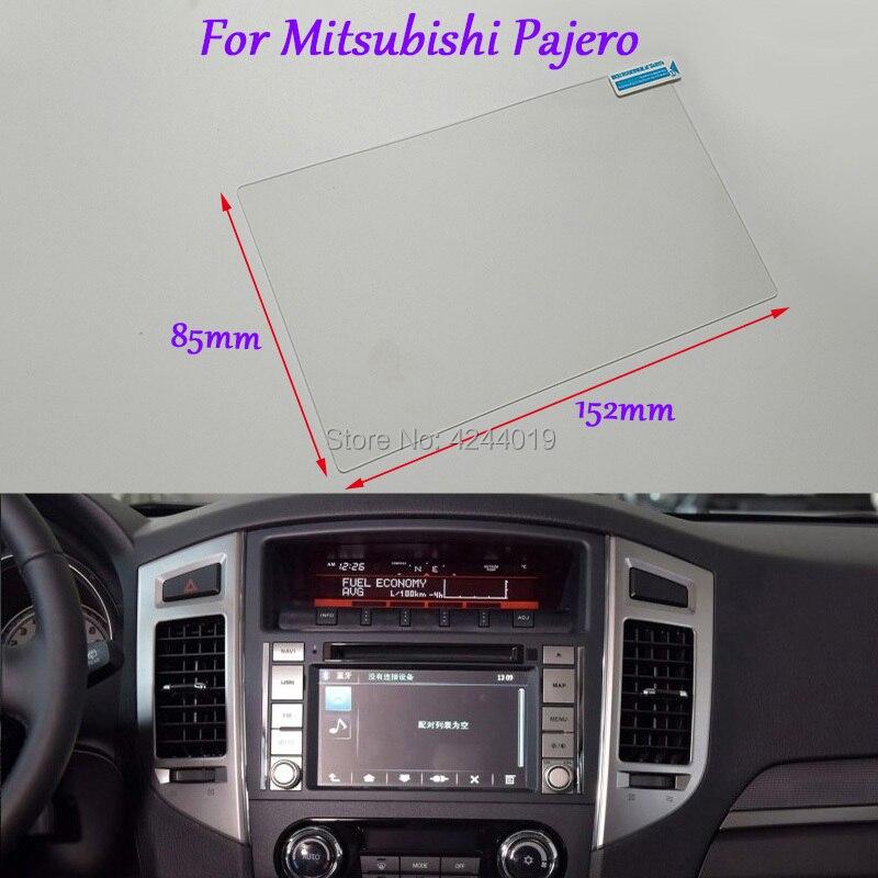 Tommia estilo do carro tela de navegação gps vidro película protetora adesivo dvd película protetora para mitsubishi pajero acessórios do carro