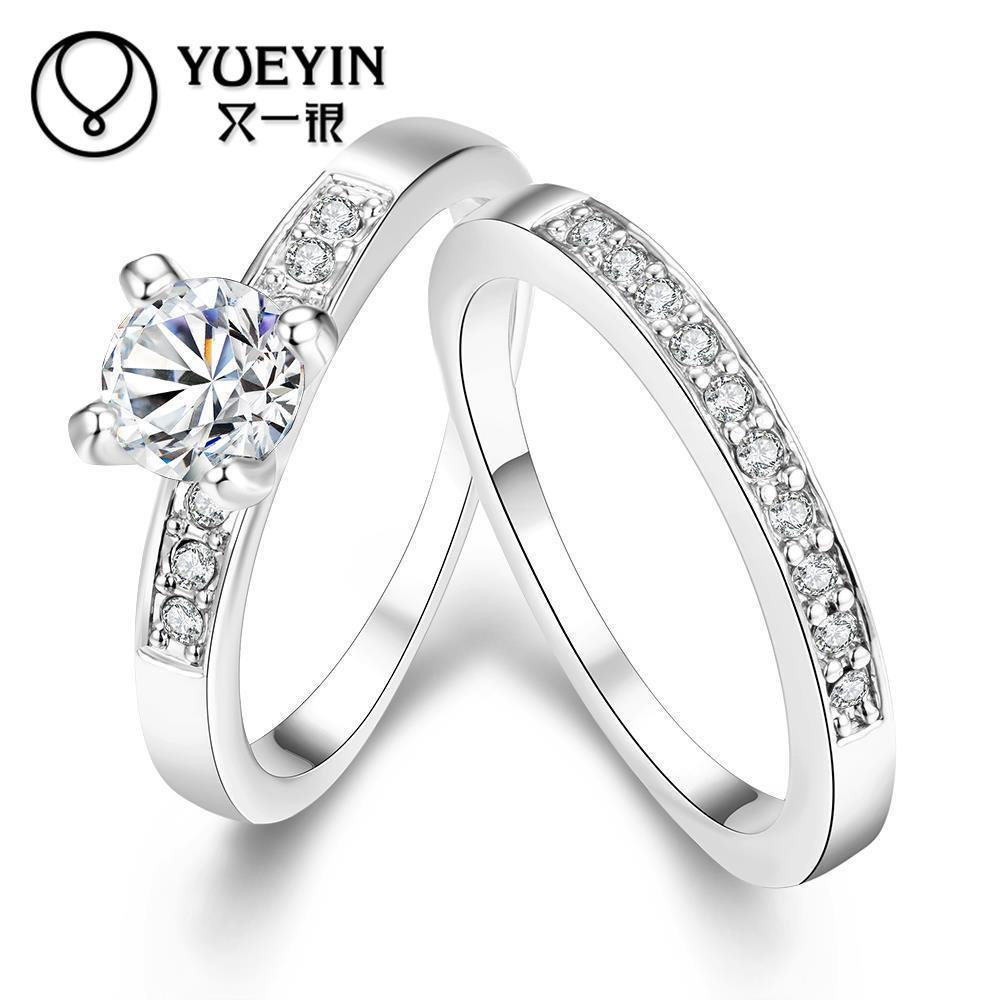 R020-B-8 atacado de alta qualidade nickle livre antialérgico nova moda jóias cor do ouro anel moda anéis de casamento