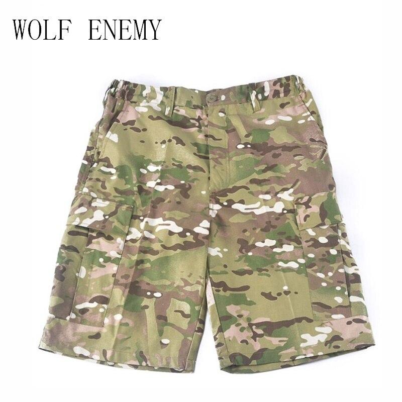 Super Ofertas Comprar Shorts Homens Bermuda Shorts Camouflage/Camo Militar/Exército Shorts De Carga Calças Curtas