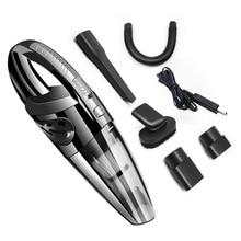 Aspirateur de voiture 100 V-240 V aspirateur Portable sans fil à double usage humide et sec pour dépoussiéreur Portable propre et automatique