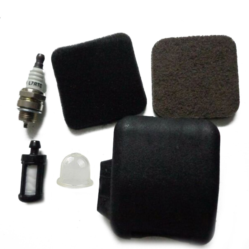 FS85 repuesto bujía de encendido kit de filtro de aire para Stihl FS75 BG75 accesorios de prefiltro