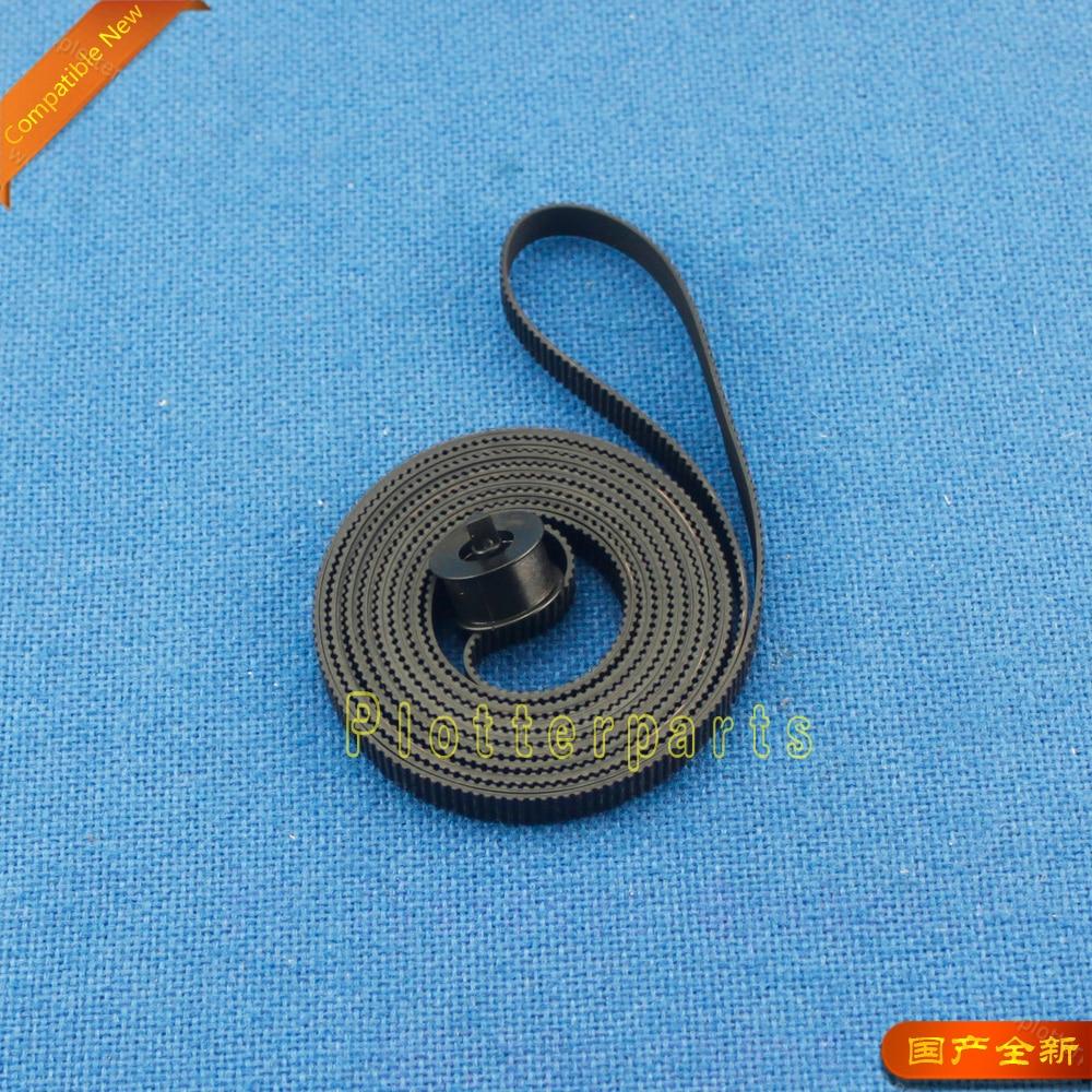 Kit de correa de transmisión de carro C6072-60198 para HP DesignJet 1050 1055CM Plus compatible nuevo
