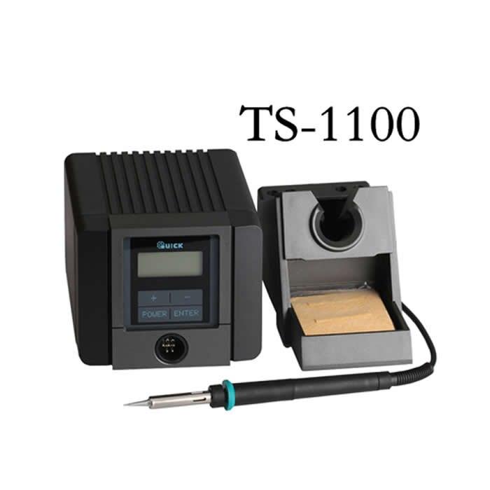 Soldador eléctrico termostático ajustable rápido TS1100 Estación de soldadura sin plomo inteligente 90W
