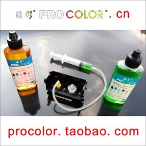 Printer head kit parts Dye ink printhead Cleaning Fluid for  Canon PIXUS 9900i i9900 i9950 iP8600 iP8500 iP9910 Pro9000 Pro9500
