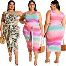Комплекты размера плюс для женщин 5xl 4xl XXXXL XXXXXL XXXL 3XL, комплекты из двух предметов, летний Повседневный облегающий жилет, юбка миди, комплект из 2 предметов
