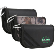 ILURE Fishing Tackle Bag Metal Spoon Lure Bait Bag EVA Insert Waterproof Jig Lure Package Free Shipping