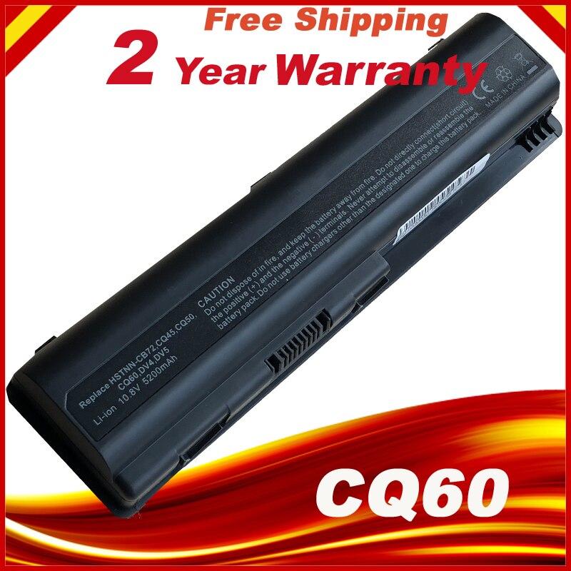 Latpop Bateria Para HP Pavilion DV4 DV5 DV6 CQ60 CQ61 484170-001 HSTNN-LB72 EV06 EUA