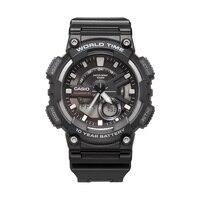 Часы Casio спортивные серии Смарт двойной дисплей многофункциональные электронные мужские часы AEQ-110W-1A